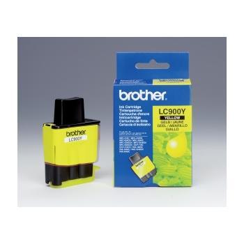 BROTHER LC-900Y, LC900YYJ1, žlutá (yellow), inkoustová náplň pro DCP-110C/115C/117C|MFC-210C/215C/410CN/425CN
