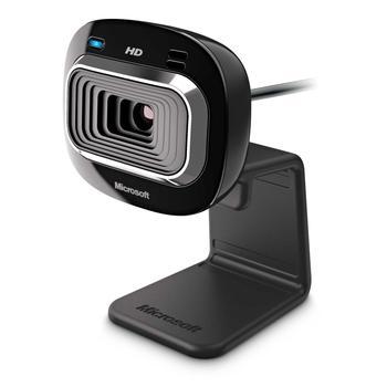 MICROSOFT LifeCam HD-3000, T3H-00013, webkamera, USB, 1280x720 bodů, mikrofon