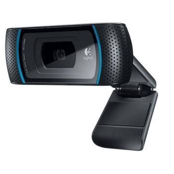 LOGITECH B910 HD Webcam, 960-000684, webkamera, USB 2.0, 1280x720 bodů, mikrofon