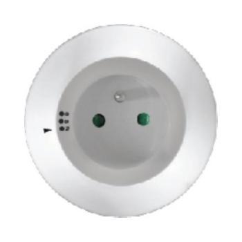SOLIGHT WL93, SWL93, noční LED svítidlo s průběžnou zásuvkou, volitelné 3 barvy světla