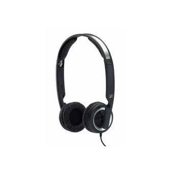 SENNHEISER PX 200 II, 502817, černá (black), sluchátka, jack 3,5mm