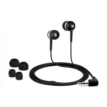 SENNHEISER CX 300-II, 502737, černá (black), sluchátka, jack 3,5mm, špunty, 16 Ohm