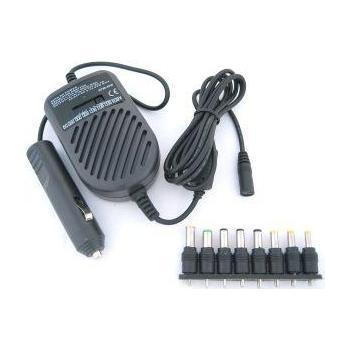 WHITENERGY univerzální autoadaptér pro notebooky, 03023, 80W, 8x koncovka, vstup 12V