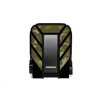 A-DATA DashDrive Durable HD710M 2TB, AHD710M-2TU3-CCF, kamufláž, přenosný pevný disk, USB 3.0, gumový, nárazu/vodě/prachu odolný