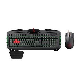 A4TECH Bloody B2100, B2100, herní set klávesnice s myší, USB, CZ, podsvícené klávesy