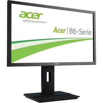 "ACER B246HYLAymidr, UM.QB6EE.A01, černý (black), 24"" LED monitor, 16:9, S-IPS, 100.000.000:1, 6ms, 250cd/m2, 1920x1080, LED, D-SUB, DVI, HDMI, DisplayPort, repro, USB HUB, Pivot"