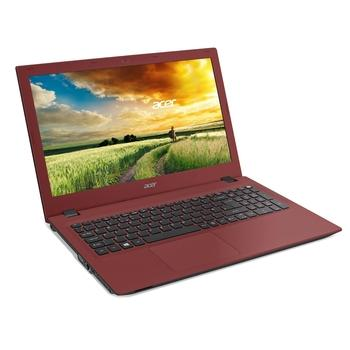 "ACER Aspire E 15 (E5-573-P9EF), NX.MVJEC.003, červený (red), notebook, Pentium 3556U, 15,6"", 1920x1080, 4GB, HDD 1TB, DVD+-RW, W10, Wi-Fi, BT, CAM, USB 3.0, HDMI"