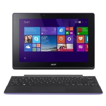 """ACER Aspire Switch 10 E (SW3-016-16X9), NT.G90EC.001, fialový (purple), notebook, Atom x5-Z8300, 10,1"""", 1280x800, dotyk. displej, 2GB, HDD 500GB, eMMC 64GB, W10 64, Wi-Fi, BT, CAM, HDMI"""