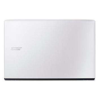"""ACER Aspire E15 E5-575-364F, NX.GE5EC.001, bílý (white), notebook, Core i3 6100U, Intel HD 520, 15,6"""", 1920x1080, 4GB, SSD 128GB, W10, Wi-Fi, BT, CAM, USB 3.0, USB-C, HDMI"""