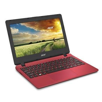 """ACER Aspire ES11 ES1-131-C774, NX.G17EC.002, červený (red), notebook, Celeron N3050, 11,6"""", 1366x768, 4GB, HDD 500GB, W10, Wi-Fi, BT, CAM, USB 3.0, HDMI"""
