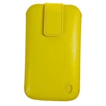 ALIGATOR VIP Collection velikost HTC HD2, VIP0035, žluté (yellow), pouzdro pro HTC, komaptibilní s jinými telefony