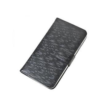 """ALIGATOR BOOK GLAMMY pro velikost L (4,5""""- 5""""), PBOGLALGY, šedé (grey), univerzální pouzdro"""