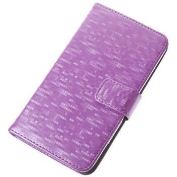 """ALIGATOR BOOK GLAMMY pro velikost L (4,5""""- 5""""), PBOGLALPK, růžové (pink), univerzální pouzdro"""