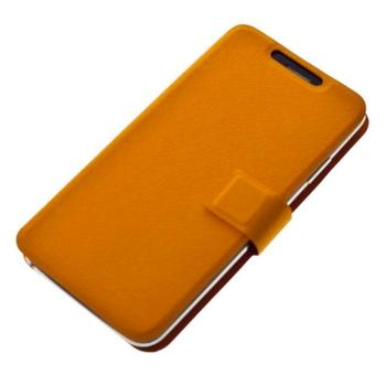 """ALIGATOR BOOK ULTRA pro velikost L (4,5""""- 5""""), PBOULTRALOR, oranžové (orange), univerzální pouzdro"""