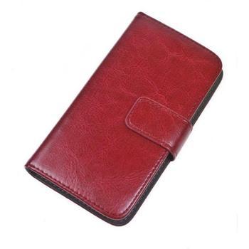 """ALIGATOR BOOK UNI pro velikost L (4,5""""- 5""""), PBOUNILRD, červené (red), univerzální pouzdro"""