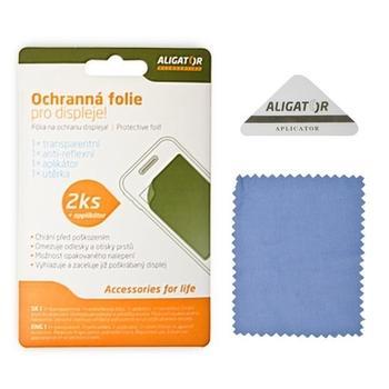ALIGATOR ochranná fólie pro HTC Sensation XL, NFAHTCSENXL, 2ks + aplikátor