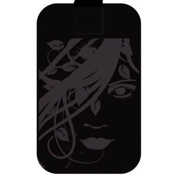 ALIGATOR FRESH velikost Samsung GALAXY S II, FACE black, POS0168, pouzdro pro Samsung