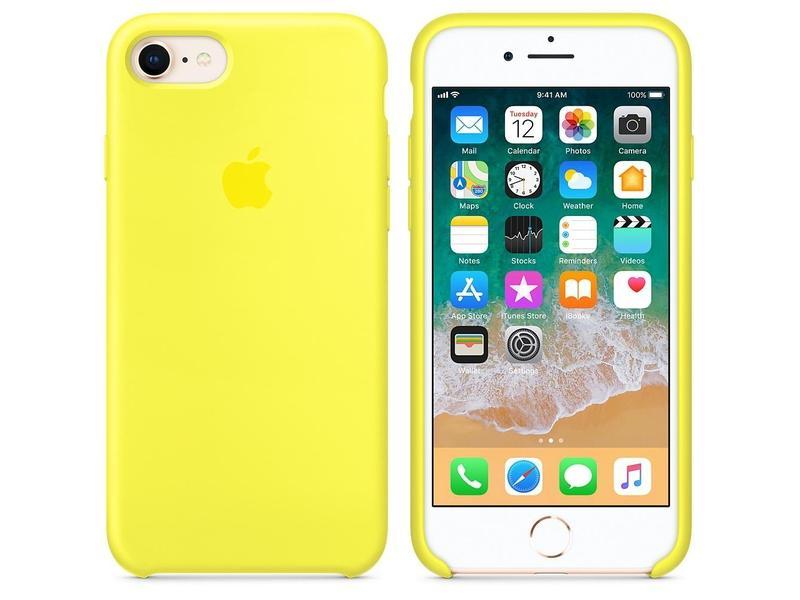 Ochranný kryt silikonový APPLE iPhone 8   7 Silicone Case Flash  6b4edc49d1d