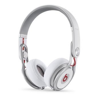 APPLE Beats Mixr On-Ear Headphones, MH6N2ZM/A, bílé (white), sluchátka, ovládání hlasitosti, jack 3,5mm, headset