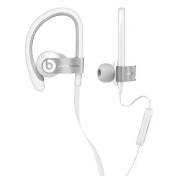APPLE Beats PowerBeats In-Ear Headphones, MHAA2ZM/A, bílé (white), sluchátka, ovládání hlasitosti, jack 3,5mm, headset, sportovní