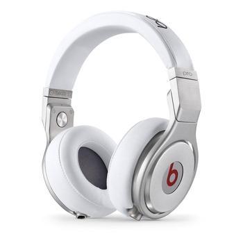 APPLE Beats Pro Over-Ear Headphones, MH6Q2ZM/A, bílé (white), sluchátka, ovládání hlasitosti, jack 3,5mm, headset