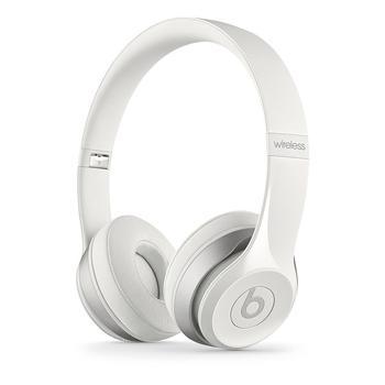 APPLE Beats Solo2 Wireless Headphones, MHNH2ZM/A, bílé (white), sluchátka, ovládání hlasitosti, bluetooth, skládací