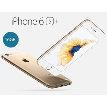 "APPLE iPhone 6S Plus 16GB Gold, MKU32CN/A, mobilní telefon, Apple A9, Dual-Core, 1,4 GHz, 2 GB RAM, interní paměť 16GB, 5,5"", 1920x1080, GPS, 3G, LTE, Foto 12Mpx, BT, Wi-Fi, iOS 9"