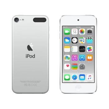 "APPLE iPod touch 64GB 2015, MKHJ2HC/A, White & Silver, MP3 přehrávač, 64GB, displej, 1136x640px, 4"", MP3, WAV, ID3, záznamník, krokoměr, Jack 3,5mm, Lighting port, Wi-Fi, Bluetooth, výdrž až 40hod."