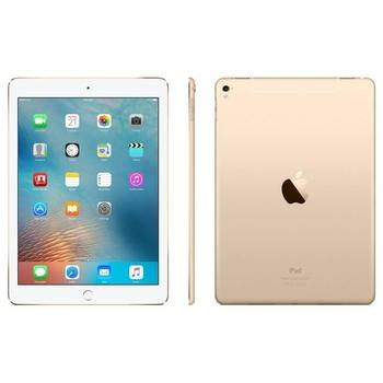 """APPLE iPad Pro 9,7"""" 128GB Cellular Gold, MLQ52FD/A, tablet, Apple A9X, 2,26 GHz, 2048x1536, 128GB, 2GB, 9.7"""", GPS, 3G, BT, Wi-Fi, Apple iOS 9"""