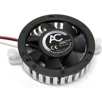 ARCTIC COOLING Chipset Cooler, , chladič na čipset nebo grafickou kartu, hliníkový, se 2 klipy