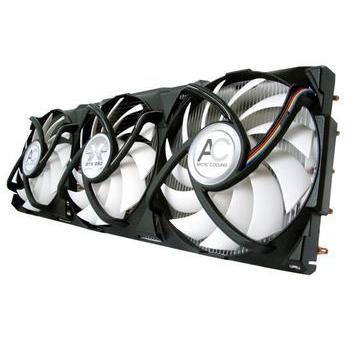 ARCTIC COOLING VGA Cooler Accelero Xtreme GTX280, Accelero Xtreme GTX2, chladič graf. karty, HeatPipe, hliníkový/měděný, PWM