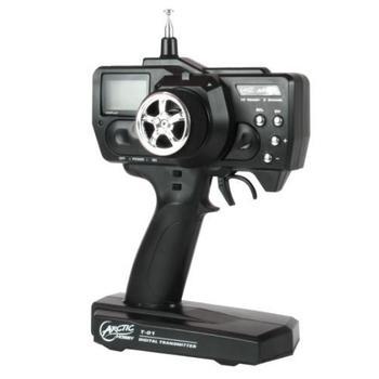 ARCTIC Hobby Transmitter T-01, ARCTIC T-01, elektronická hračka, profesionální vysílač