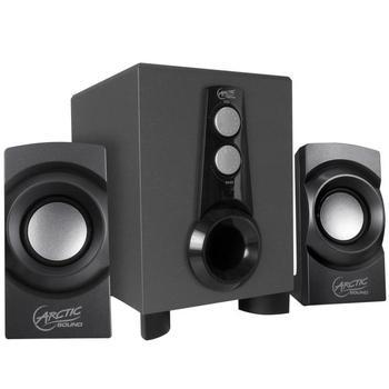 ARCTIC COOLING Sound S151, ARCTIC S151, reproduktory, 2.1ch zvuk, plast, 17W, výstup na sluchátka, jack 3,5mm