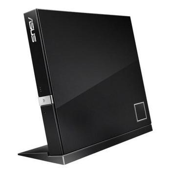 ASUS SBW-06D2X-U, 90-DT20305-UA191KZ, externí Blu-ray vypalovačka, BD-R(SL) 4x, BD-R(DL) 6x, BD-RE (SL) 2x, BD-RE (DL) 6x, 24x CD, 8x DVD