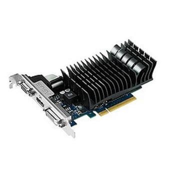 ASUS 210-SL-1GD3-BRK, 90-C1CP61-L0UANAYZ, grafická karta, GeForce GT 210, 1GB, DDR3, PCIe 2.0, 15pin D-sub, DVI, HDMI, pasivní chladič