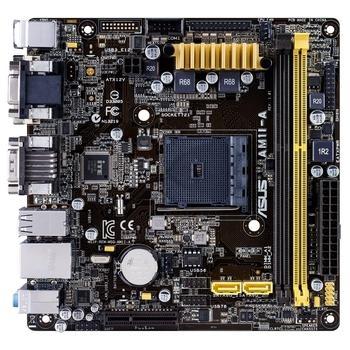 ASUS AM1I-A, 90MB0IA0-M0EAY0, základní deska, socket AM1, DualCH. DDR3, GLAN, 4xUSB 2.0, 2xUSB 3.0, mITX
