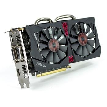 ASUS STRIX-GTX950-DC2OC-2GD5-GAMING, 90YV08V0-M0NA00, grafická karta, GeForce GTX 950, 2GB, DDR5, PCIe 3.0, 2x DVI, HDMI, DisplayPort, NVIDIA CUDA