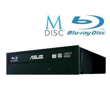 ASUS BW-16D1HT + software, 90DD01E0-B20000, černý (black), bulk, Blu-ray vypalovačka, SATA/150, BD-R(SL) 12x, BD-R(DL) 8x, BD-RE (SL) 8x, BD-RE (DL) 2x, 48x CD, 16x DVD