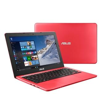 """ASUS EeeBook E202SA-FD0017T, E202SA-FD0017T, červený (red), notebook, Celeron N3050, Intel HD Graphics, 11,6"""", 1366x768, 4GB, HDD 500GB, W10, Wi-Fi, BT, USB 3.0, HDMI"""