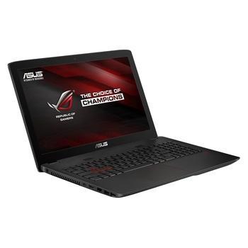 """ASUS ROG GL552VX-CN117T, GL552VX-CN117T, herní notebook, Core i5 6300HQ, NVidia GTX950M, 15,6"""", 1920x1080, 8GB, HDD 1TB, SSD 128GB, DVD+-RW, podsvícená klávesnice, W10, Wi-Fi, BT, CAM, USB 3.0, H"""