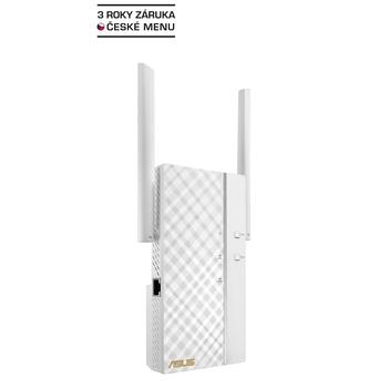 ASUS RP-AC66, 90IG0250-BO3R00, Dualband Range Extender, AP, repeater, 2,4/5GHz, až 1750Mbps