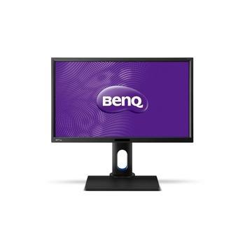 """BENQ BL2420U, 9H.LD6LA.TBE, černý (black), 24"""" LED monitor, 16:9, S-IPS, 1000:1, 7 ms, 300cd/m2, 3840x2160, LED, DVI, HDMI, DisplayPort, repro, Pivot"""