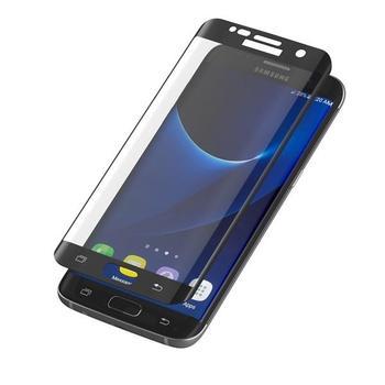 ZAGG InvisibleSHIELD Glass Contour pro Samsung Galaxy S7 Edge, , černé (Black), tvrzené ochranné sklo, tvrdost 9H, vysoká citlivost dotyku, nezanechává bubliny