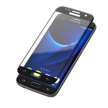 ZAGG InvisibleSHIELD Glass Contour pro Samsung Galaxy S7, , černé (Black), tvrzené ochranné sklo, tvrdost 9H, vysoká citlivost dotyku, nezanechává bubliny