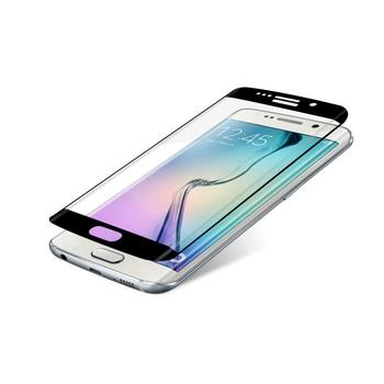 ZAGG InvisibleSHIELD Glass Contour pro Samsung Galaxy S6 Edge, , černé (Black), tvrzené ochranné sklo, tvrdost 9H, vysoká citlivost dotyku, nezanechává bubliny