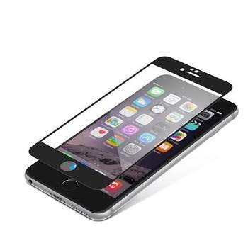 ZAGG InvisibleSHIELD Glass Contour pro Apple iPhone 6 Plus / 6S Plus, , černé (Black), tvrzené ochranné sklo, tvrdost 9H, vysoká citlivost dotyku, nezanechává bubliny