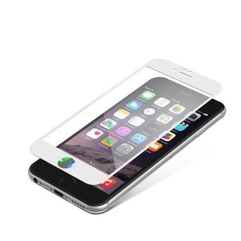 ZAGG InvisibleSHIELD Glass Contour pro Apple iPhone 6 / 6S, , bílé (white), tvrzené ochranné sklo, tvrdost 9H, vysoká citlivost dotyku, nezanechává bubliny