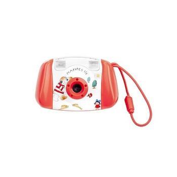 "GOGEN MAXI FOTO, , červený (red), fotoaparát pro děti, 3Mpx, dig. zoom 4x, pro SD/SDHC, 2xAA, 1,8"", 640x480"