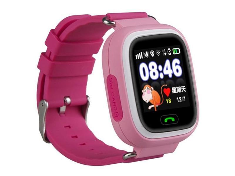 df165046e Dětské chytré hodinky s GPS lokátorem HELMER LK 703 růžové (pink ...