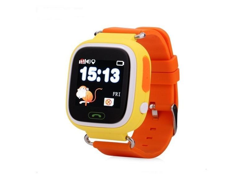 c4fa336ea Dětské chytré hodinky s GPS lokátorem, GPS. HELMER LK 703 žluté (yellow)